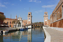 The Venetian Arsenal Royalty Free Stock Image
