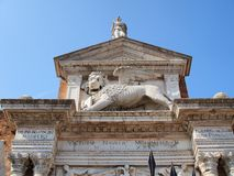 The Venetian Arsenal, Venice, Italy Royalty Free Stock Photography