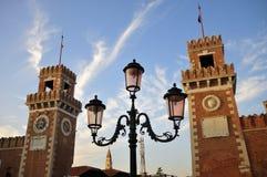 Venetian Arsenal Royalty Free Stock Image