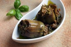 Venetian artichokes Stock Photos