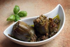 Venetian artichokes Stock Photo