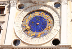 Venetian astrological clock Stock Photo