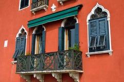 Venetian balcony Royalty Free Stock Image