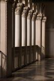 Venetian Balcony Columns and Arches in Las Vegas. Nevada stock photography