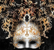 Venetian Baroque Mask Stock Photography