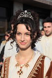 Venetian beauty at Venice carnival Royalty Free Stock Images