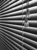 Venetian blind: cord detail angle - v stock photo