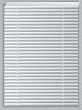 Venetian blinds.. A white venetian blinds Stock Photo