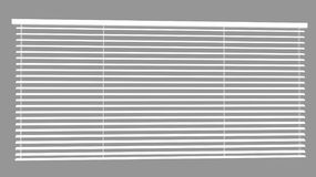 Venetian Blinds 3d Max Royalty Free Stock Photo