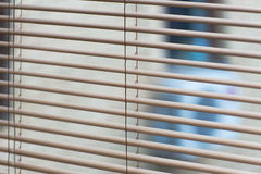 Venetian blinds, close up image as background Royalty Free Stock Photos