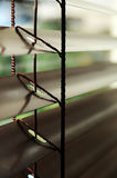 Venetian blinds detail Stock Photo