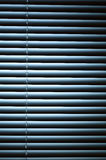 Venetian Blinds at Night Royalty Free Stock Photography