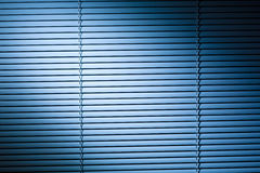 Venetian Blinds at Night Stock Photos