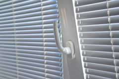 Venetian Blinds On Window Royalty Free Stock Images