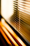 Venetian blinds with selective focus Stock Images