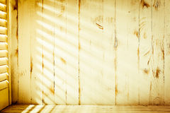 Venetian blinds sunlight Stock Photos