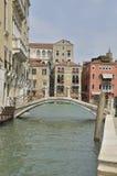 Venetian bridge Stock Image
