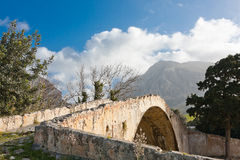 Venetian Bridge at Preveli Royalty Free Stock Images