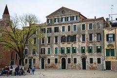 Venetian building Stock Images