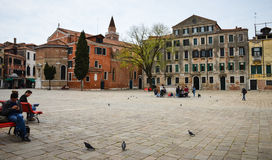 Venetian building Stock Photo