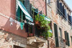 Venetian buildings in Italy Stock Image