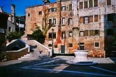 Venetian campo Stock Image