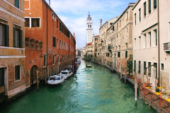 Venetian Canal. Stock Photography