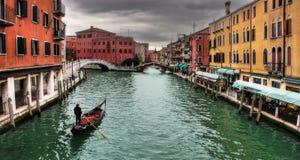 Venetian Canal. Stock Photo
