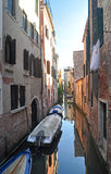 Venetian Canal Royalty Free Stock Photography