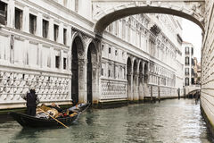 Venetian canal Royalty Free Stock Photos