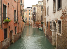 A Venetian canal, Italy Stock Photos