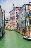 Venetian canal landscape Stock Images