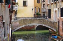 Venetian canal Royalty Free Stock Photo