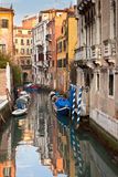 Venetian Canal Reflections Royalty Free Stock Photography