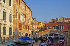 Venetian canal stock photography