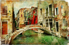 Venetian canals Stock Photography