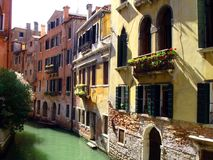 Venetian canals Stock Images