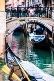 Venetian canals Stock Image