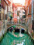 Venetian canals Royalty Free Stock Image