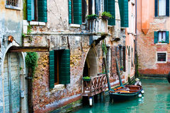 Venetian canals Stock Photos