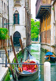 Venetian canals Royalty Free Stock Photo