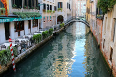The Venetian canals in Venice, Italy Royalty Free Stock Images