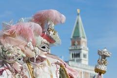 Venetian Carnaval Stock Images