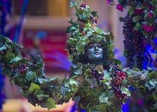 Venetian Carnevale erfarenhetsfestival Fotografering för Bildbyråer