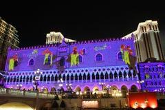 Macau : The Venetian Carnevale 2013 royalty free stock photo