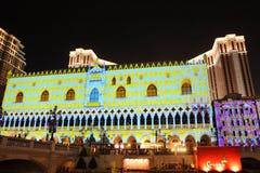 Macau : The Venetian Carnevale 2013 royalty free stock image