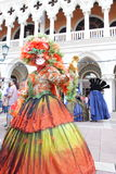 Macau : The Venetian Carnevale 2013 Stock Images