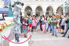 Macau : The Venetian Carnevale 2013 royalty free stock photos