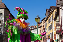 Venetian Carnival 2012 Royalty Free Stock Images