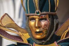 Venetian carnival-2013 Stock Images